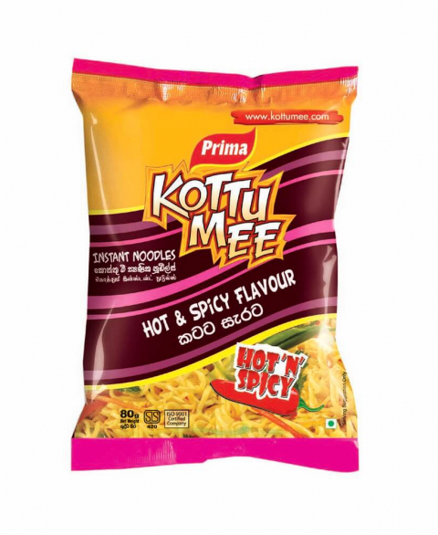 Kottu Mee 80g - Hot & Spicy