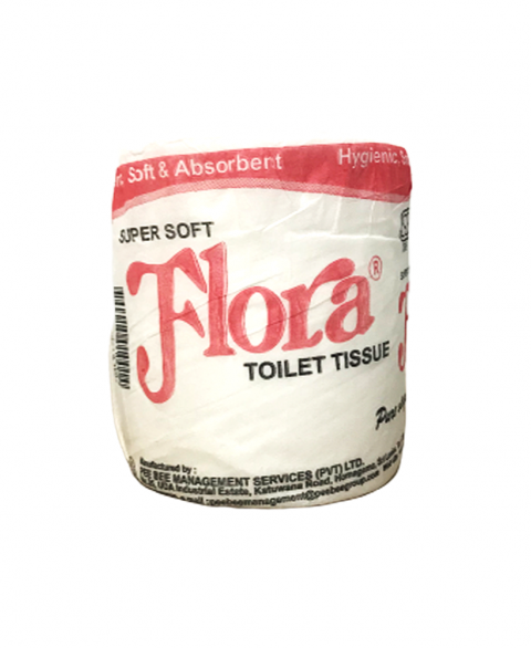 Flora Toilet Paper Roll 2ply 133g