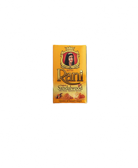 Rani Sandalwood with Honey and Turmeric Soap 90G