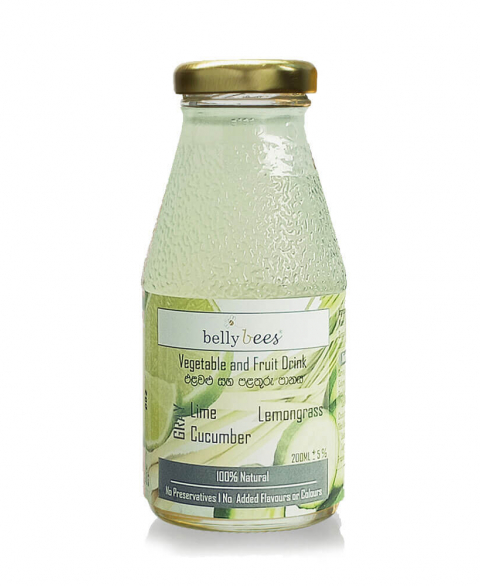 Bellybees Fruit/Vegi Juice (Gray Juice) - Lemongrass and Lime 200ml