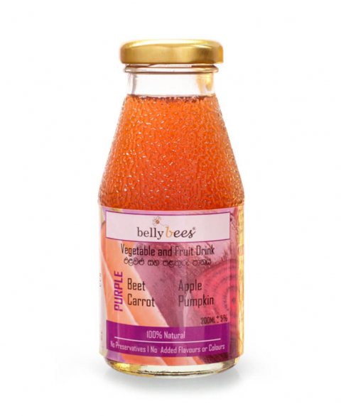 Bellybees Fruit/Vegi Juice (Purple Juice) - Beet 200ml